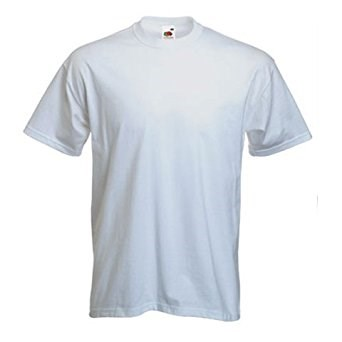White Childs 100% Cotton PE T Shirt supplied plain